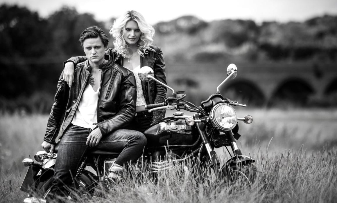 Triumoh Motorcycle photo shoot by Pawel Spolnicki